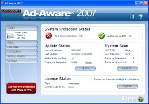 Ad-Aware 8.0.7 miniaturka