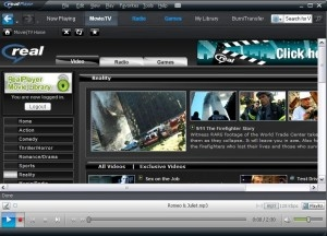 RealPlayer SP 1.0 miniaturka